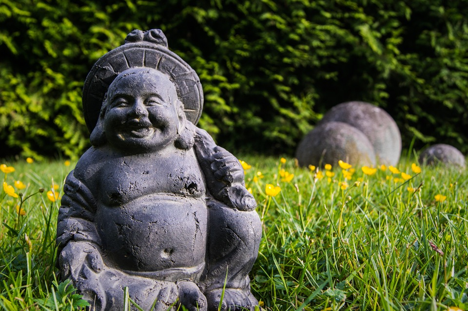 nature, grass, green, elements, buddha